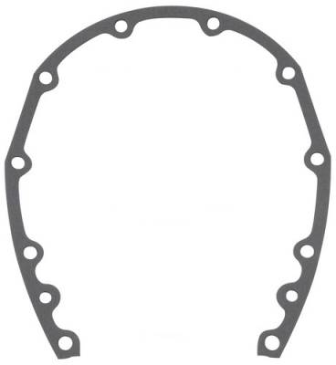 Engine Gaskets - Timing Cover Gaskets & Seals - Fel-Pro Gaskets - FEL-Pro Timing Cover Gaskets SBC Cover to block