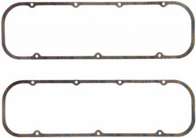 FEL-Pro Valve Cover Gaskets BBC cork with steel core 5/16 thick