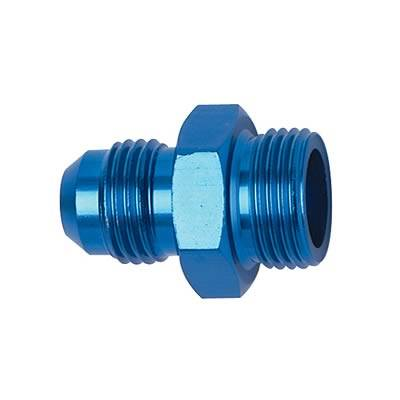 Fittings & Hoses - O-Ring Fittings - Fragola - -8 O-Ring Port To -8AN-Blue