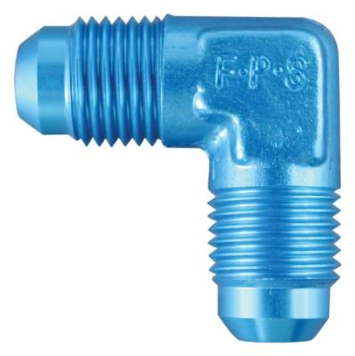 Aluminum AN Fittings - 90 Degree Flare Union Fittings - Fragola - -6 AN 90 Degree Flare Union
