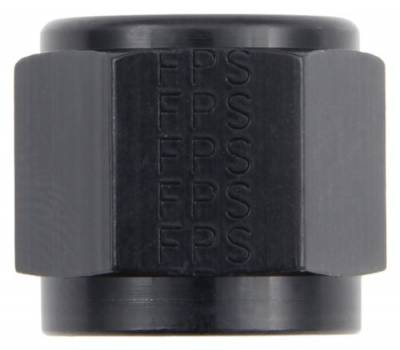 Fittings & Hoses - Tube Sleeve Fittings  - Fragola - Black -6AN Tube Nut