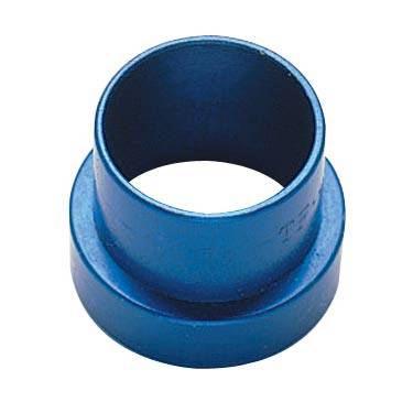 Fittings & Hoses - Tube Sleeve Fittings  - Fragola - Blue-8AN Tube Sleeve