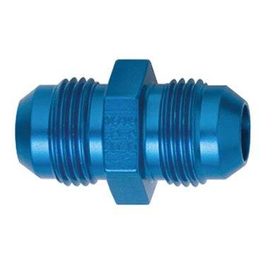 Aluminum AN Fittings - Flare Union Fittings - Fragola - Blue -20 AN Union Adapter