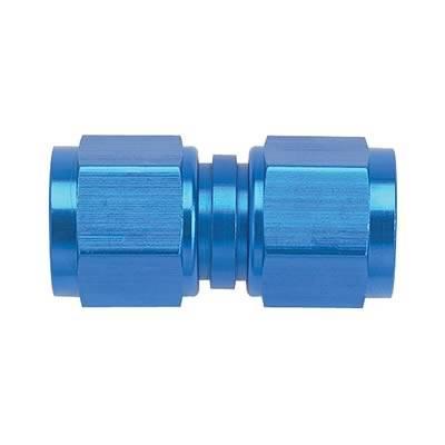 Aluminum AN Fittings - Female Flare Swivel Fittings - Fragola - Blue -4AN Female Flare Swivel
