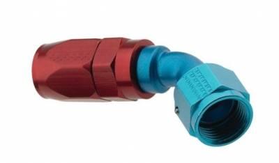 Fragola - Fragola 224512 12 AN Aluminum 45 Degree Socket Hose Fitting IMCA USRA NHRA