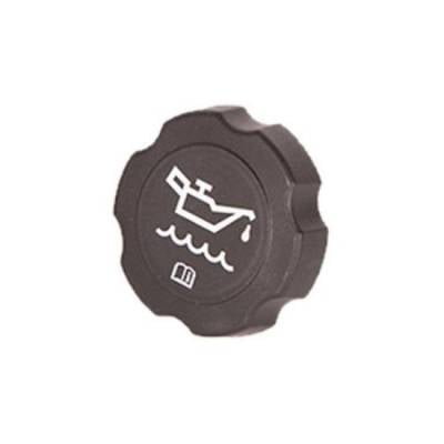 Chevrolet Performance - General Motors Original Equipment Style Oil Cap - Black plastic cap; GM style screw in oil cap