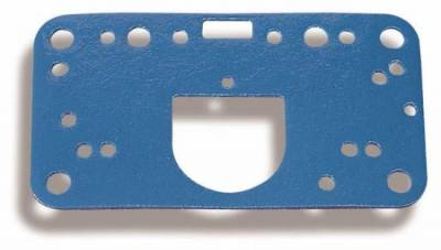 Engine Gaskets - Carburetor Gaskets - Holley - Metering Block Gasket - Blue non-stick metering block gasket Fits most 4150 carbs