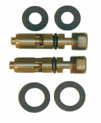 """Holley - Holley """"Steel"""" Inlet Needle and Seat - Seat size .097"""""""
