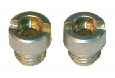 "Carburetor Tuning  - Gas Jets - Holley - Holley Performance 122-65 Carburetor .065"" Standard Main Jets Pair 1/4-32 Thread"