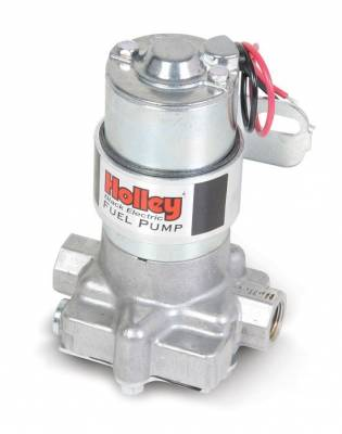 "Fuel System & Components - Electric Fuel Pumps - Holley - Holley Pro-Series ""Black"" Fuel Pump-140GPH"