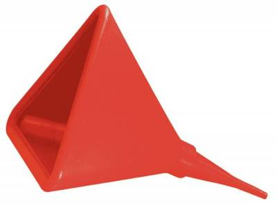 """Fuel System & Components - Fuel Cells & Accesories - JAZ Products - 16"""" TRIANGLE SHAPE FUEL FUNNEL"""