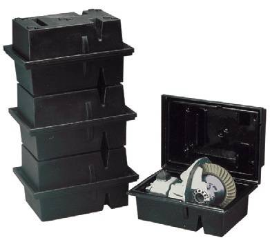 Transmission & Drivetrain - Spools, Bearings & Install Kits - JAZ Products - PRC 9 Gear Tote Vertical third member case