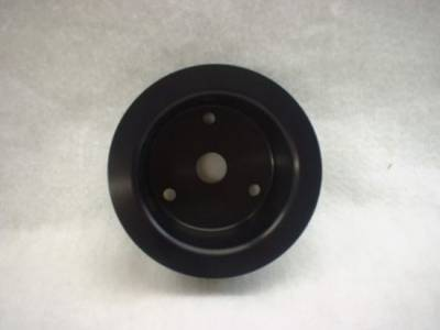 "Cooling - Pulleys, Belts & Kits - JR Manufacturing - SBC Billet Aluminum Pulleys-5 13/16"" Lower Pulley Long Water Pump"