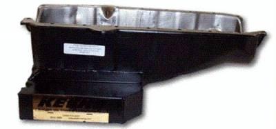 Kevko - 7-Quart Stock Style Pan Right Hand dipstick block