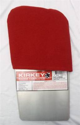 Kirkey Racing Seats - Red Cloth Cover for Right Leg Support