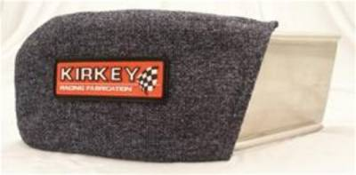 Kirkey Racing Seats - Blue Cloth Cover for Left Shoulder Support