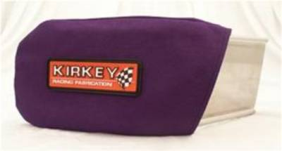 Kirkey Racing Seats - Purple Cloth Cover for Left Shoulder Support