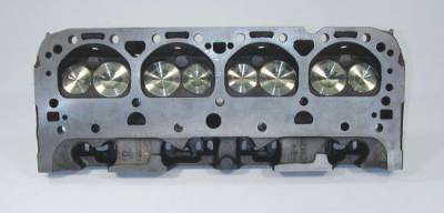 "Cylinder Heads by - Standard GM Castings - KMJ Performance Kits - 1.94/1.6 Stainless Steel Valves-.600"" Single Spring-3/8"" Stock Appearing Screw in Stud"