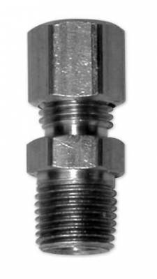 """Brakes - Brake Fittings - KMJ Performance Parts - Replacement 1/8"""" Straight Pipe Fitting for Brake Line"""