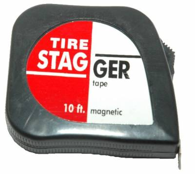 Circle Track - Tire Tools & Accessories - KMJ Performance Parts - Tire Stagger Tape