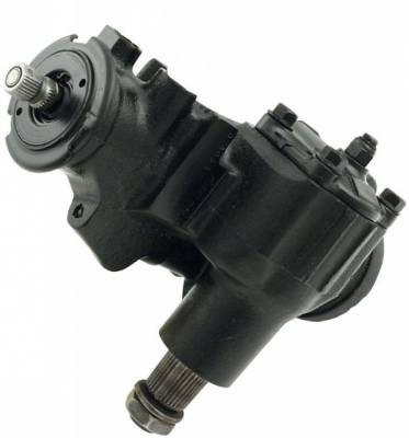 """Steering - Steering Boxes and Components - KMJ Performance Parts - 800 Metric Steering Box for Dirt-8-1 Ratio-235 Valving-3/4"""" -30 Spline Uses PRC 30308 U-Joint"""