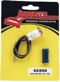 Gauges & Accessories - Warning Lights & Accessories - Longacre - Longacre Racing Products 42300 Replacement Red Pilot Light for SWi Gauges