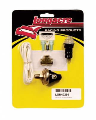 Gauges & Accessories - Sending Units, Specialty Gauges & Kits - Longacre - Longacre Fuel Pressure Warning Light