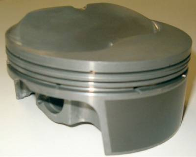 Pistons & Rings - Pistons - Mahle Motorsports - Mahle Domed Pistons Small Block Chevy Cubic Inch 400; Rod Length 6.0; Stroke 3.750; Bore 4.125; Dome 4