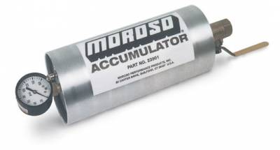 Oil Pans & Components - Accumulators & Restrictors - Moroso - Moroso Accumulators - Gas pressured accumulator