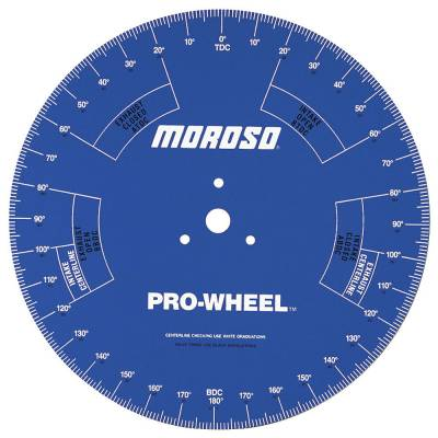 "Tools, Shop & Pit Equipment - Engine Building Tools - Moroso - Moroso 18"" Pro Degree Wheel - #62191"