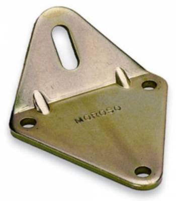 "Moroso - Chevrolet Motor Mount - .250"" zinc plated steel; small block; big block and 90 Chevy V6 in fabricated chassis"