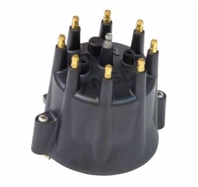 Distributors & Components - Distributor Cap & Rotor - MSD - MSD Replacement Cap for Billet Distributors - Black