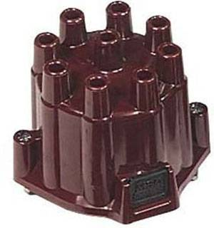 Distributors & Components - Distributor Cap & Rotor - MSD - MSD Ignition 8437 Chevy GM V8 Distributor Cap