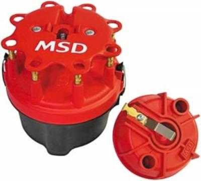 Distributors & Components - Distributor Cap & Rotor - MSD - MSD Cap-a-dapt Kit