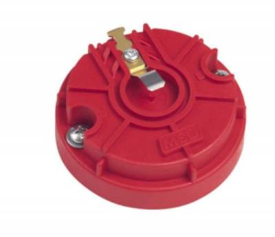 Distributors & Components - Distributor Cap & Rotor - MSD - MSD 8467 Red Performance Racing Rotor Pro Billet Distributor Ignition GM Chevy