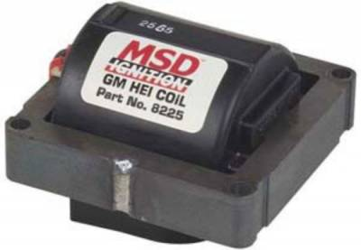 MSD - MSD 8225 HEI Heat Ignition Distributor Coil In Cap GM Chevy 42,000 Volt