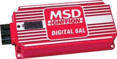 MSD - MSD 6425 High Output 6AL Digital Ignition Box Control Rev Limiter CDI 12 Volt