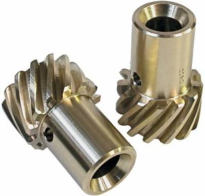 "Distributors & Components - Distributor Gears, Shafts, Hold Downs & Components - MSD - MSD 8471 Bronze Distributor Gear SBC BBC Big Block Small Block .500"" ID 1pc"
