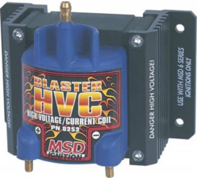 MSD - MSD 8252 Blaster HVC High Voltage Current Coil Long High RPM Racing