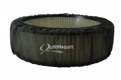 """Air Filters & Cold Air Intakes - Pre Filters - Outerwears Co Inc - 14""""x 4"""" Black Outerwears Pre-Filter"""