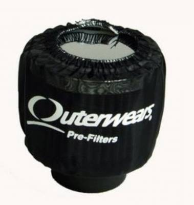 Breathers, Overflows & Hardware - Outerwears - Outerwears Co Inc - Outerwears for Crank Breathers - for Non-Shielded Breathers - Black