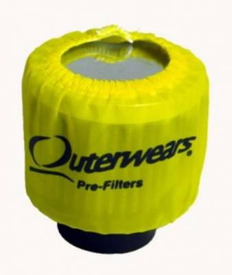 Breathers, Overflows & Hardware - Outerwears - Outerwears Co Inc - Outerwears for Crank Breathers - for Non-Shielded Breathers Yellow