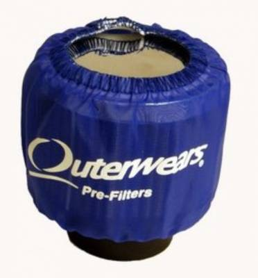 Breathers, Overflows & Hardware - Outerwears - Outerwears Co Inc - Outerwears for Crank Breathers - for Shielded Breathers Blue