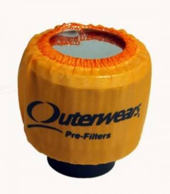 Breathers, Overflows & Hardware - Outerwears - Outerwears Co Inc - Outerwears for Crank Breathers - for Shielded Breathers Orange