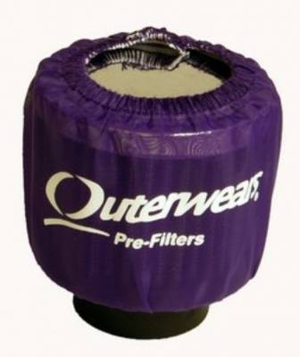 Breathers, Overflows & Hardware - Outerwears - Outerwears Co Inc - Outerwears for Crank Breathers - for Shielded Breathers Purple