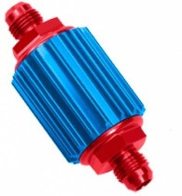 Fuel System & Components - Fuel Filters - Professional Products - Inline Street Filters - Red/Blue Inline Filter
