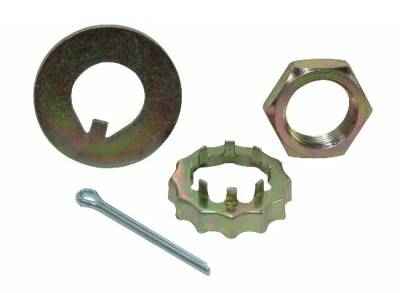 Brakes - Brake Rotor Bearings & Seals - Precision Racing Components - Pinto Spindle Nut Kit