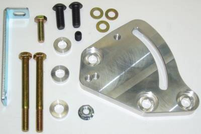 Steering - Bracket Kits & Reservoirs - Precision Racing Components - PRC Power Steering Block Mount Bracket