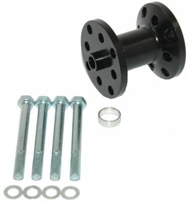 "Cooling - Fan Spacers - Precision Racing Components - PRC 2.25"" Billet Aluminum Fan Spacer"