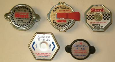 Cooling - Radiator Caps & Thermostats - Precision Racing Components - High Pressure Radiator Cap-Mini Race 29-31lbs.